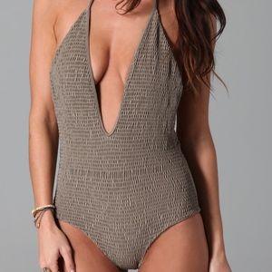 NWOT Tori Praver Kelly One Piece Swimsuit